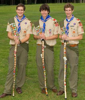 Eagle Scouts from Atlanta