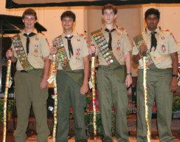 Troop 148 Orlando, Florida has new Eagle Scouts.